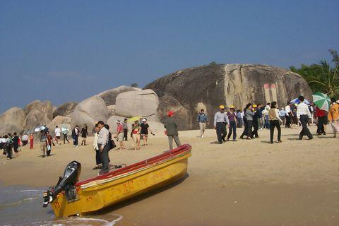о. Хайнань, Пляж