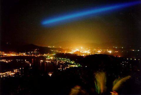 о. Хайнань, Вечерняя панорама города Санья