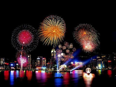 Гонконг, Праздник фейерверков