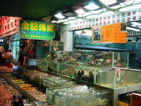 Гонконг, Рынок морепродуктов