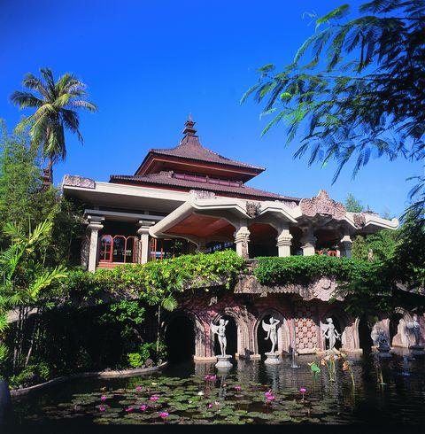 о. Бали, Типичный отель