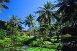 о. Бали, Сад в отеле