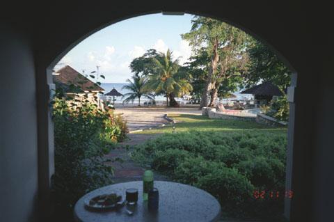 Очо Риос, Вид из окна