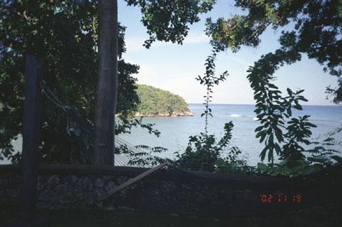 Очо Риос, Вид на море
