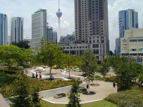 Куала Лумпур, Центр города
