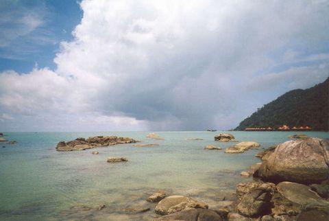 о. Лангкави, Дикий пляж
