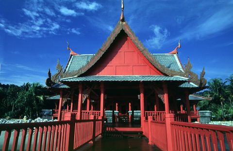 о. Лангкави, Традиционный храм